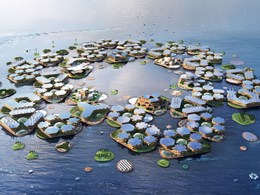 BIG architects proposes unusual sustainable city design