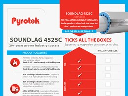 Pyrotek presents the latest in pipe insulation