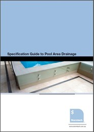 Specification Guide to Pool Area Drainage