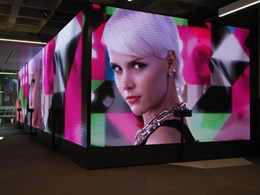 New standards of LED display begin to transform building foyers in Australia