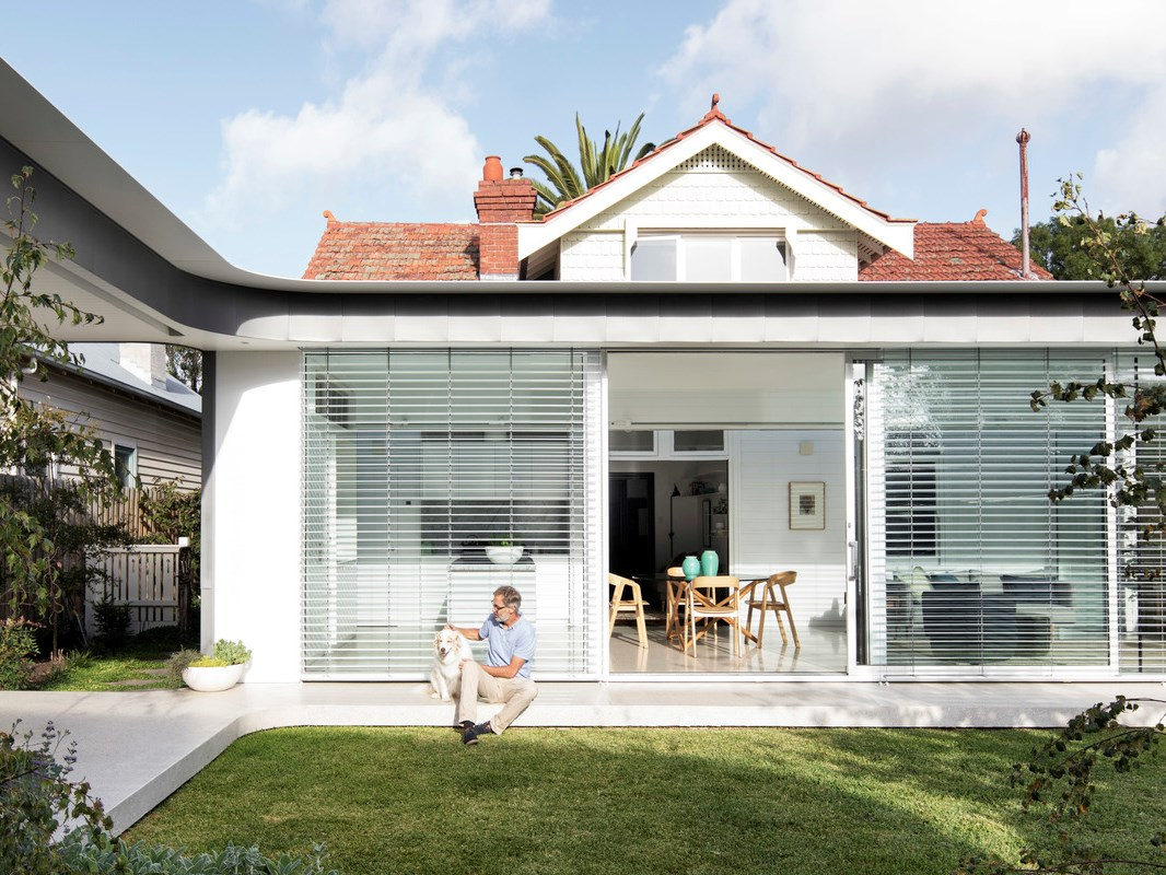 Turning a weatherboard bungalow into a modern family home