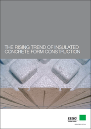 The rising trend of insulated concrete form construction