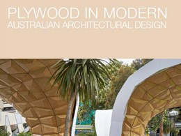 Plywood in modern Australian architectural design