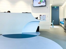 Vibrant, hygienic and comfortable space achieved with Altro floors at health clinic