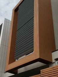 Futurewood exclusively specified for external cladding at Innova townhouses in Kew, Victoria