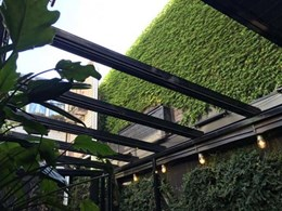 SolaGlide glass retractable roof adds acoustic benefits to new Melbourne restaurant