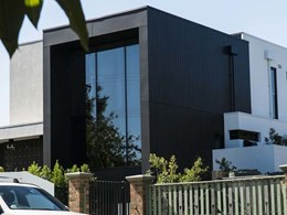 Euro Selekta cladding blends edgy design and class on Ivanhoe, Melbourne home
