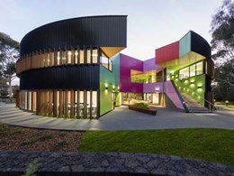 New learning space at Ivanhoe Grammar School features VitraPanel cladding panels
