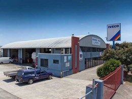 Spantech constructs large workshop for truck servicing company in Burleigh Heads, Qld