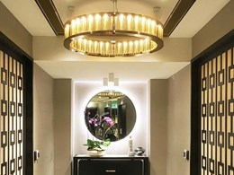 Custom chandeliers crafted for Gold Coast casino