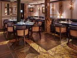 Jamavar restaurant in Mayfair, London stuns with Havwoods timber flooring