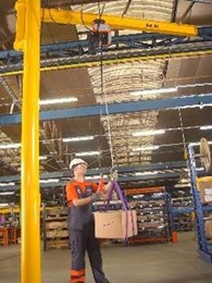 Konecranes jib cranes tailored for high volume facilities