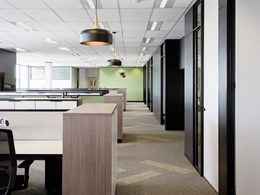 A1 Office's new eco-friendly office fitout features EcoSoft carpet tiles