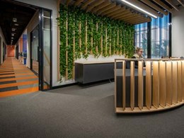 K Rock recycles 47,250 bottles with EcoSoft carpet tiles in acoustic installation