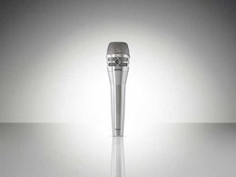 Jands releases Shure's KSM8 Dualdyne cardioid dynamic vocal microphone