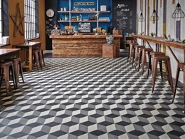 Creating unique flooring concepts with new Kaleidoscope collection