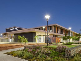 Kingspan delivers thermal efficiency to new Karratha hospital building