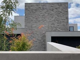 Petersen D91 bricks add timeless touch to new Melbourne home