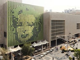Dynamic green art wall installation launched for building facades
