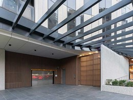 Stunning Ever Art Wood facade lends opulence to Melbourne apartments