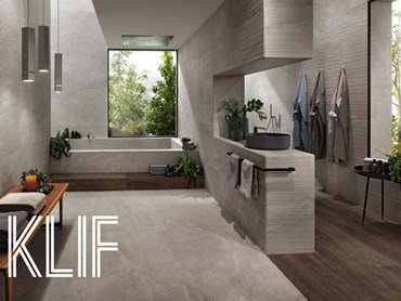 The new Klif collection is inspired by the Beola stone