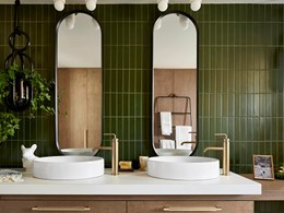 Introducing curves into bathroom design