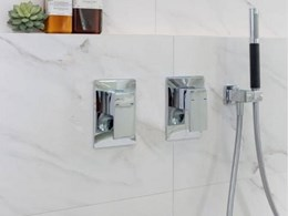 Kohler's Slim Trim mixer range for sleeker bathrooms