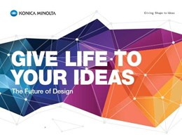 3D and wide format colour printing to be showcased at Konica Minolta's The Future of Design Seminar