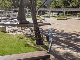 ResortDeck transforms La Trobe Uni forecourt into low maintenance shared space