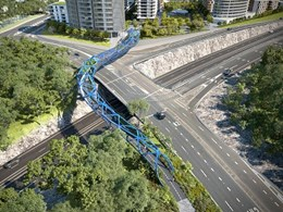 New $40M steel bridge for pedestrians and cyclists