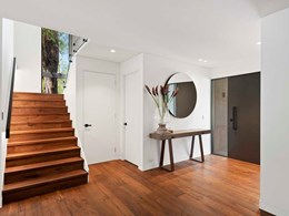 Rustic look flooring adds character to Sydney home with bush outlook