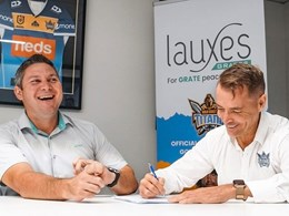 Lauxes Grates takes the brand to the next level with Gold Coast Titans partnership