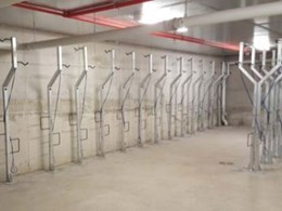Leda installs bike parking at Sydney Olympic Park residential tower