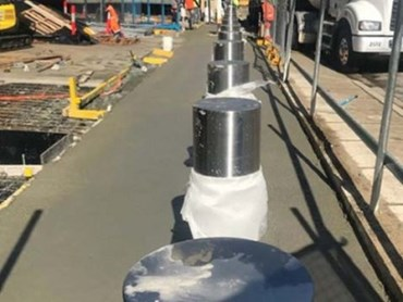 Leda S Shallow Mount Bollards For Challenging