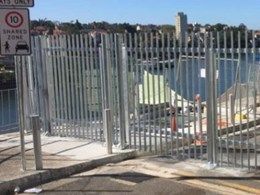Pedestrian, vehicle gates and bollards installed at old Kirribilli naval base