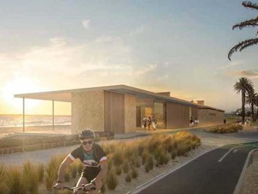 Concept design of new South Melbourne Life Saving Club