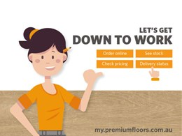 Premium Floors' B2B platform making life easier
