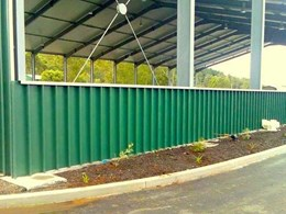Spantech designs shade structure at Lismore Recycling and Recovery Centre