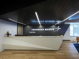 OfficePace provides complete furniture solution for Lockheed Martin's new Australian HQ