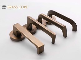 Lockwood Brass Core range honoured with a 2020 Good Design Award
