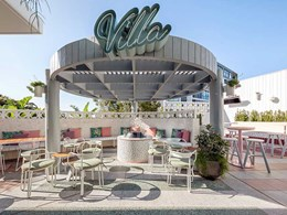 Vergola enables alfresco dining all year round at Loungueville Hotel
