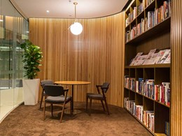 Screenwood panels provide acoustic comfort at Sydney's Lowy Institute