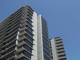 MAX double glazed framing systems add to architectural aesthetic at Melbourne luxury apartments