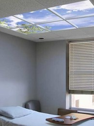 New study confirms Luminous SkyCeilings reduce acute stress by half in clinical settings