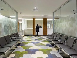 Bolon collections create uplifting ambience in Lyell McEwin Hospital outpatient area