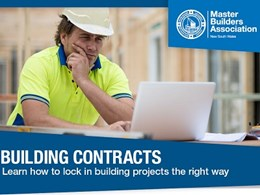 Join this subsidised course to get started on your pathway to a builder's licence
