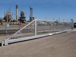 Magnetic installs 12m cantilever gate at coal export site to prevent unauthorised foot traffic