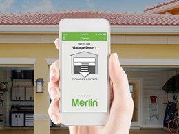 Merlin's garage door openers join the smart home movement