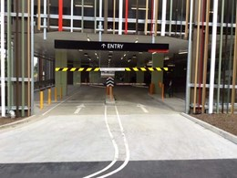 Magnetic's MHTM Parking Pro boom gates installed in parking upgrade at major university