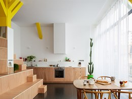 Space-saving apartment in Montrouge